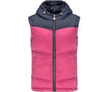 Weste marine / pink