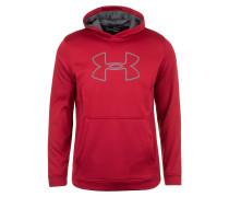 Sweatshirt grau / rot
