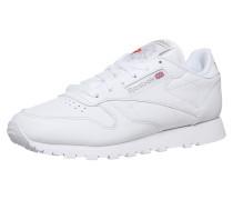 Sneaker Low grau / weiß