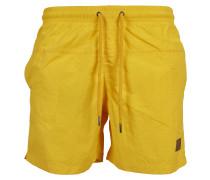 Badeshorts 'Block Swim Shorts' gelb