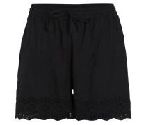 High Waist Shorts schwarz