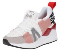 Sneaker 'waseda' rosa / weiß