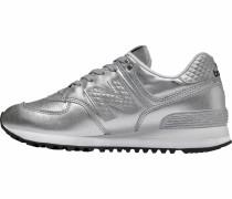 Sneaker 'wl574' silber