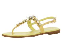 Sandale 'olimpia' gelb