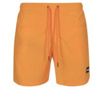 Shorts 'Block Swim' orange