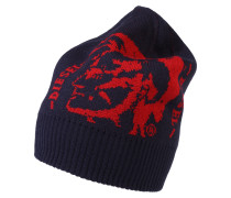 Mütze 'K-Graffis' blau / rot