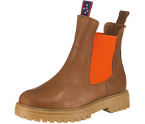 Chelsea Boots cognac / orange
