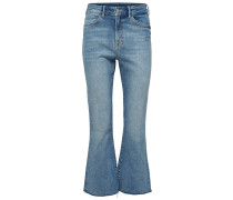 Bootcut-Jeans blue denim