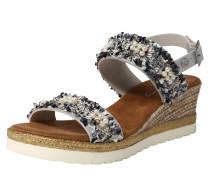 Sandale '1317801' grau / silber