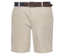 Shorts 'Plek' hellbraun