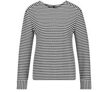 T-Shirt schwarz / offwhite