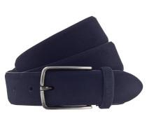 Gürtel '3.5cm ' dunkelblau / silber