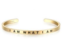 Armband mit Schriftzug I AM What I AM