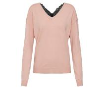 Pullover altrosa / schwarz