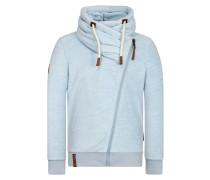 Male Zipped Jacket hellblau