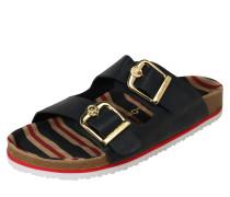 Sandale mit Fußbett navy