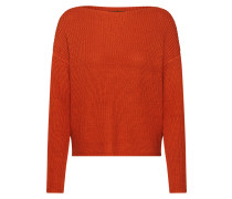 Pullover 'marina' orangerot