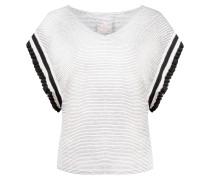 Shirt 'Ellen the Shirt' schwarz / weiß