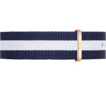 Band kobaltblau / weiß