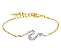 Armband 'Eden Serpent' gold / silber