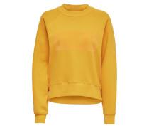 Sweatshirt 'onlLOTTA' goldgelb