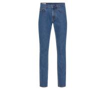 'Tom Fuji' Blue Jeans dunkelblau