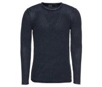 Pullover 'Masche' dunkelblau