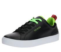 Sneaker 'luiss LOW H' grün / schwarz