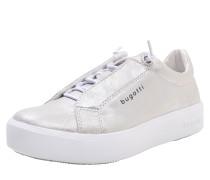 Sneaker mit Glitzereffekt silber