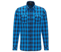 Hemd 'Men' blau