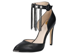 High Heels 'apple' schwarz
