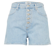 Short 'Retro' blue denim