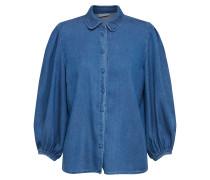 Bluse 'vibista' blau