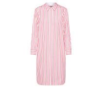 Kleid rot / offwhite