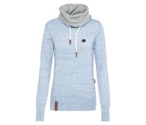 Sportlicher Pullover himmelblau