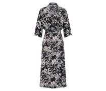 Kleid 'prosecca' schwarz / weiß