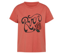 T-Shirt 'Bloom' rostrot