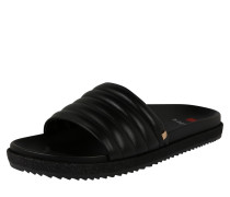 Pantolette 'Slide' schwarz