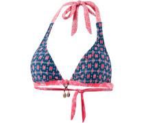 'Tyra' Bikini Oberteil blau / pink
