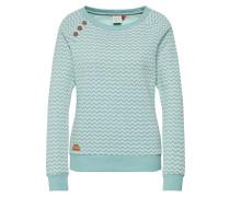 Sweatshirt 'Daria Zig Zag' mint