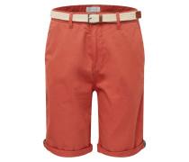 Shorts 'Basic Twill SH' orangerot