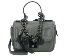 Mini Bag Handtasche 15 cm grau