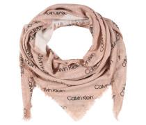 Schal rosa / schwarz