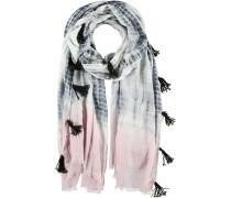 Baumwoll-Modal Schal weiß