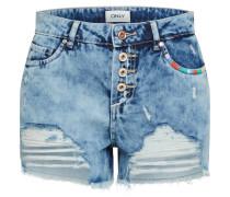 Regular Shorts 'onlDIVINE Ethnic' blue denim
