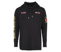 Sweatshirt 't-Fonty' schwarz
