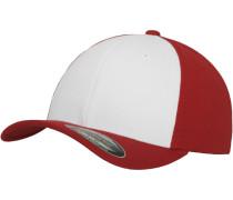 Cap 'Performance' feuerrot / weiß