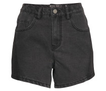Shorts 'cutline' black denim