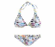 Bikini mischfarben / weiß