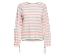 Pullover 'ucca' rosa / weiß